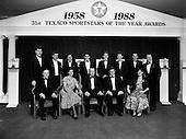 1989 - Texaco Sportstars of the Year Awards 1988 at the Burlington Hotel