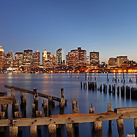 Most beautiful Boston skyline night photography from New England and Boston based fine art photographer Juergen Roth showing landmarks such as Boston Downtown, Custom House of Boston, New England Aquarium, Boston Harbor, John Hancock building and Prudential Center captured on an early April spring night at twilight. <br /> <br /> Skyline photography images of Boston are available as museum quality photography prints, canvas prints, acrylic prints or metal prints. Prints may be framed and matted to the individual liking and decorating needs:<br /> <br /> http://juergen-roth.artistwebsites.com/featured/2-boston-juergen-roth.html<br /> <br /> Good light and happy photo making!<br /> <br /> My best,<br /> <br /> Juergen<br /> www.RothGalleries.com<br /> www.ExploringTheLight.com<br /> http://whereintheworldisjuergen.blogspot.com<br /> @NatureFineArt
