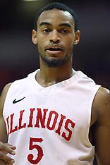 Anthony Cousin Illinois State Redbird Basketball Photos