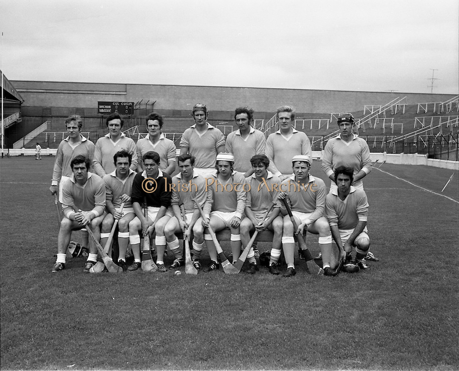 04/10/1970<br /> 10/04/1970<br /> 10 April 1970<br /> All-Ireland Intermediate Hurling Final: Antrim v Warwickshire at Croke Park, Dublin.<br /> The Warwickshire team.