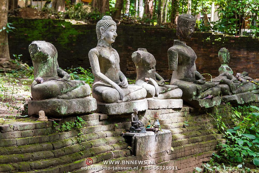 THA/Chiang Mai/20160729 - Thailand 2016 Chiang Mai, tempel complex Wat Umong