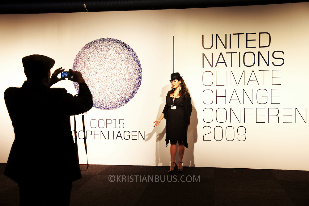 COP15, the fifteenth Conference of the Parties, was held in Copenhagen in 2009. The United Nations Climate Change Conference was held at the Bella Center in Copenhagen, Denmark, between 7 and 18 December. The Copenhagen summit was attended by three thousand delegates  including state leaders as well as  a further ten thousand climate activists from all over the world. Greenpeace was one of many attending groups from civil society who was there to put pressure on decision makers to save the planet from future climate change disaster.