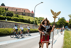 Petovia Romans of city Ptuj and cyclists during 1st Stage of 27th Tour of Slovenia 2021 cycling race between Ptuj and Rogaska Slatina (151,5 km), on June 9, 2021 in Slovenia. Photo by Matic Klansek Velej / Sportida