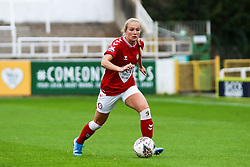 Jemma Purfield of Bristol City Women dribbles with the ball- Mandatory by-line: Will Cooper/JMP - 18/10/2020 - FOOTBALL - Twerton Park - Bath, England - Bristol City Women v Birmingham City Women - Barclays FA Women's Super League