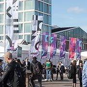 NLD/Amsterdam/20190509 -  Zoe Saldana bij finale van de Chivas Venture, TNW Festival