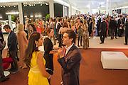 ESTEFANIA RENAUD; THOMAS WOODHAM-SMITH; , Masterpiece Midsummer Party in aid of CLIC Sargent. Masterpiece London. The Royal Hospital, Royal Hospital Road, London, SW3. 3 July 2012.