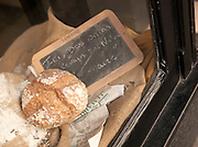 Fresh bread in a boulangerie, Paris, France