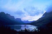 Wildgoose island on St Mary Lake Glacier National Park
