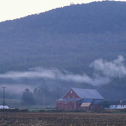 Waitsfield, VT.Mad River Valley.  Farm in the Green Mountains.