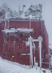 THEMENBILD - Observatorium am Sonnblick Observatorium, aufgenommen am 20. November 2018, Rauris, Österreich // exterior view at the Observatory Sonnblick on 2018/11/20, Rauris, Austria. EXPA Pictures © 2018, PhotoCredit: EXPA/ JFK