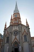 Gothic Catholic church in Botafogo, Rio de Janeiro