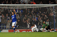 Photo: Ashley Pickering/Sportsbeat Images.<br /> Ipswich Town v Bristol City. Coca Cola Championship. 10/11/2007.<br /> The Bristol defence is left in dissarray as Pablo Counago (L) scores the fifth for Ipswich