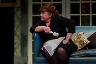 """Middletown, New York - Students from The Apprentice Players of the SUNY Orange Arts & Communications Department in a dress rehearsal of """"Death Comes to Us All, Mary Agnes"""" at Orange Hall Theatre on April 17, 2014."""
