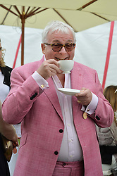 CHRISTOPHER BIGGINS at the Cartier Queen's Cup Polo final at Guard's Polo Club, Smiths Lawn, Windsor Great Park, Egham, Surrey on 14th June 2015