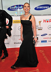 Ornella Muti attend the Goldene Kamera 2014 at Tempelhof Airport Hangar 7, Berlin, Germany, Saturday, 1st February 2014. Picture by  Schneider-Press / i-Images<br /> UK & USA ONLY