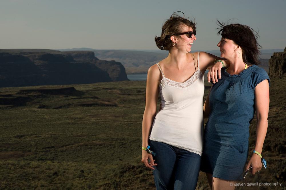 Tori and Megan