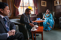 Leicester, United Kingdom | 2009<br /> Manjula Sood, the Lord Mayor of Leicester, meets with her constituents. In 2008, she became the first Asian woman Lord Mayor of a British town. The office is ceremonial, but as Leicester's first citizen and chair of the city council, the Lord Mayor is the public face of Britain's most ethnically diverse city.
