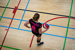 Steffie Janshen of Fast in action during the league match Laudame Financials VCN - FAST on January 23, 2021 in Capelle aan de IJssel.