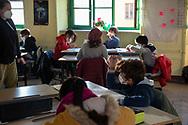 """Roma, 20/11/2020: Scuola Primaria e dell'Infanzia """"ICarlo Pisacane"""". Torpignattara.<br /> © Andrea Sabbadini"""