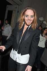 Comedian TIM MINCHIN at the opening night performance of The Rocky Horror Show, This performance is to celebrate the 40th Anniversary UK Tour, at The New Wimbledon Theatre, Wimbledon, London SW19 on 21st January 2013.
