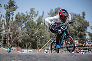 #104 (HEBERT Avriana) CAN at round 8 of the 2018 UCI BMX Supercross World Cup in Santiago del Estero, Argentina.