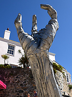 G7 Extinction Rebellion protesters St Ives, Cornwall, UK photo by Krisztian Elek