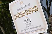 Chateau Guiraud, Sauternes, Bordeaux, France