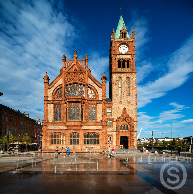 Photographer: Chris Hill, Guildhall, Derry City
