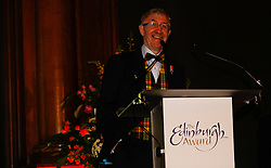 Pictured: <br /> Edinburgh Award for 2016 presented to Ken Buchanan at the city chambers. A ceremony at the City Chambers for the recipient of this year's award, Ken Buchanan, who was presented with a Loving Cup by the Lord Provost. He was also reunited with his hand-prints which have been set in a flagstone within the grounds of the City Chambers and see his name etched on the city's Edinburgh Award honour board <br /> <br /> Scott Louden | EEm 3 March 2017