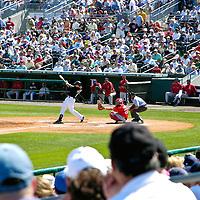 Boston Red Sox vs Florida Marlins, Spring Training game; Roger Dean Stadium, Jupiter, Florida