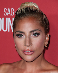 BEVERLY HILLS, LOS ANGELES, CA, USA - NOVEMBER 08: SAG-AFTRA Foundation's 3rd Annual Patron Of The Artists Awards held at the Wallis Annenberg Center for the Performing Arts on November 8, 2018 in Beverly Hills, Los Angeles, California, United States. 08 Nov 2018 Pictured: Lady Gaga, Stefani Joanne Angelina Germanotta. Photo credit: Xavier Collin/Image Press Agency/MEGA TheMegaAgency.com +1 888 505 6342