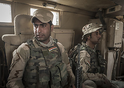 November 2, 2016 - Iraqi army soldiers are entering to Mosul. (Credit Image: © Bertalan Feher via ZUMA Wire)