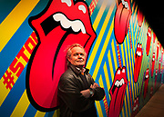 Chris Jagger, musician and brother of Mick Jagger on 7th April 2016, in the Saatchi Gallery, Kensington, London, United Kingdom. The show, EXHIBITIONISM, combines over 500 original Stones artefacts, with striking cinematic and interactive technologies offering the most comprehensive and immersive insight into the Rolling Stones fascinating fifty year history.