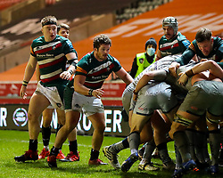 Argentina international Julián Montoya on debut for Leicester Tigers,  - Mandatory by-line: Nick Browning/JMP - 29/01/2021 - RUGBY - Mattioli Woods Welford Road - Leicester, England - Leicester Tigers v Sale Sharks - Gallagher Premiership Rugby