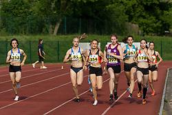 Veronika Sadek, Tija Ocvirk, Jerneja Smonkar, Nika Dobovsek, Lucija Sustersic and Marusa Povse compete during day 2 of Slovenian Athletics Cup 2019, on June 16, 2019 in Celje, Slovenia. Photo by Peter Kastelic / Sportida