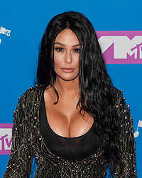 August 21, 2018 - New York City, New York, USA - 8/20/18.Jenni Farley (JWOWW) at the 2018 MTV Video Music Awards at Radio City Music Hall in New York City. (Credit Image: © Starmax/Newscom via ZUMA Press)