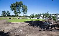 NOORDWIJK - Golfcentrum Noordwijk. Aanleg nernieuwde hole 9  met sproeiers.COPYRIGHT KOEN SUYK