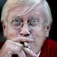 Nederland, Heeze , 25 september 2009.<br /> Hans Wiegel (Amsterdam, 16 juli 1941) is een Nederlands voormalig politicus voor de VVD. Hij is voorzitter van de Zorgverzekeraars Nederland en bekleedt nog diverse andere (neven)functies.<br /> Foto:Jean-Pierre Jans