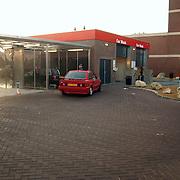 Wasstraat tankstation Vos Eemlandweg Huizen