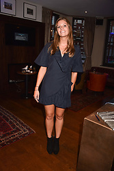 Marina Comninos at The Tribe Syndicate launch party hosted by Highclere Thoroughbred Racing at Beaufort House, 354 King's Rd, London England. 25 April 2018.