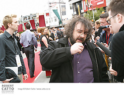 Cast and crew of Peter Jackson's The Lord Of The Rings: The Two Towers gather for the Australasian Premiere at Wellington's Embassy Theatre.  Cast present include Elijah Wood, Dominic Monaghan and Billy Boyd, as well as NZ actors Karl Urban, Jed Brophy Robyn Malcolm and Bruce Hopkins.