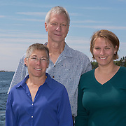 SOUTHPORT ISLAND, Maine -- 6/5/15 -- Family Photo: Taylor / Blauweikel<br /> © Roger Duncan Photography 2015. Released for all uses to Curt Taylor, Anna Taylor, Ruth Blauwiekel