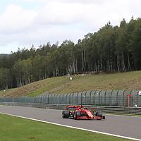 28.08.2020, Circuit de Spa-Francorchamps, Spa-Franchorchamps, FORMULA 1 ROLEX BELGIAN GRAND PRIX 2020<br />  , im Bild<br /> Sebastian Vettel (GER#5), Scuderia Ferrari<br /> <br /> Foto © nordphoto / Bratic