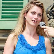 ITA/Lucca /20130521 - Presenttie Cast film De Toscaanse Bruiloft, Medi Broekman