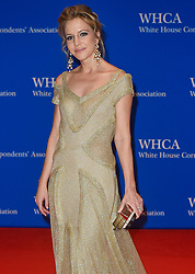 CNN Correspondent Michelle Kosinski arrives for the White House Correspondents' Association (WHCA) dinner in Washington, D.C., on Saturday, April 29, 2017 (Photo by Riccardo Savi) *** Please Use Credit from Credit Field ***