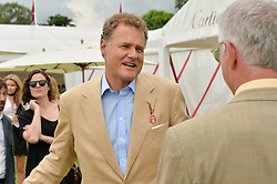 VISCOUNT ROTHERMERE at the Cartier Queen's Cup Final 2016 held at Guards Polo Club, Smiths Lawn, Windsor Great Park, Egham, Surry on 11th June 2016.