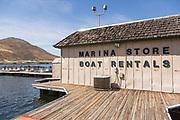 Marina Store and Boat Rentals at Lake Skinner