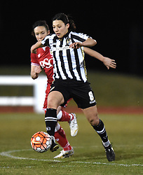 Notts County Ladies FC's Rachel Williams - Mandatory by-line: Paul Knight/JMP - Mobile: 07966 386802 - 23/02/2016 -  FOOTBALL - Stoke Gifford Stadium - Bristol, England -  Bristol City Women v Notts County Ladies - Pre-season friendly