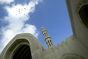 Qaboos Mosque<br /> <br /> The Sultanate of Oman is a country in Southwest Asia. It borders the United Arab Emirates in the northwest, Saudi Arabia in the west, and Yemen in the southwest.<br /> The oil discovery, in the 60's, started to transform this asleep country. Today, Oman is  torn by modern roads, industrialized and rich ( Omanization ). The tradition still dominates life of the 2,5 million inhabitants: strong religion ( muslim ), traces of tribal loyalties and a very characteristic culture.