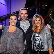 NLD/Hilversum/20121207 - Skyradio Christmas Tree, jury, Dyanne beekman, Tom Sebastian en Kim Kotter